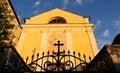 Front facade of the church of Saint joseph Royalty Free Stock Photo
