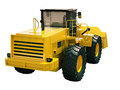 Front loader isolated modern on white background without shadow Royalty Free Stock Photography