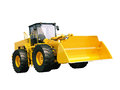 Front loader isolated modern on white background without shadow Stock Photo