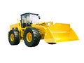 Front loader isolated modern on white background without shadow Stock Photography