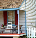 Front Porch Chair Royalty Free Stock Photo