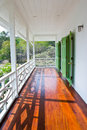 Front porch at chonburi thailand Royalty Free Stock Images