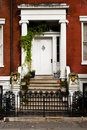 Front porch in New York City Royalty Free Stock Photo