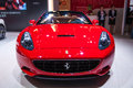 Front of red ferrari roadster take on the th chongqing international motor show june th th there are many international famous Royalty Free Stock Photos