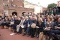 Front Row Celebrities, London fashion Week Royalty Free Stock Photo