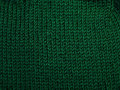 Front side green knit pattern Royalty Free Stock Photography