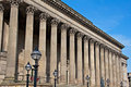 Front of St Georges Hall, Liverpool, UK Royalty Free Stock Images