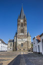 Front of the thorn abbey in limburg netherlands Royalty Free Stock Photo