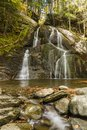 Granville Moss Glen Falls Royalty Free Stock Photo