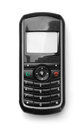 Front view of old cell phone Royalty Free Stock Photo