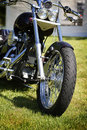 Front wheel Stock Images