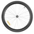 Front wheel mountain bike Royalty Free Stock Photo