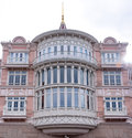 Front windows luxury hotel large Stock Photo