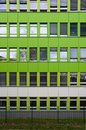 Frontage cladding plastic tilling of a office building Royalty Free Stock Image