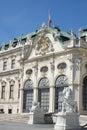 Frontage of reduta concert hall bratislava slovakia Royalty Free Stock Photos