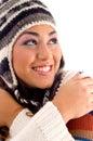 Fronte sveglio sorridente del woman Fotografia Stock Libera da Diritti