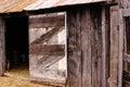 Frontier barn of an early south dakota homestead Royalty Free Stock Photos
