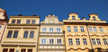 Fronts of Praga Stock Photography