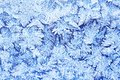Frost pattern beautiful of on winter window Royalty Free Stock Photography