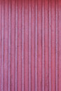 Frost red wall of wooden house at winter see my other works in portfolio Stock Photos