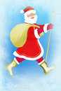Frost and Santa Claus Royalty Free Stock Photo