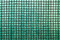 Frosted glass green reinforced with an iron grid now rusty Stock Images