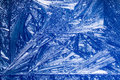 Frosty blue pattern winter background Royalty Free Stock Photo