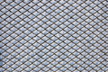 Frosty mesh fence Stock Photos