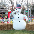 Frosty The Snow Man Royalty Free Stock Photo