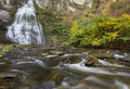 Frotenac falls and trumansburg creek frontenac on near cayuga lake in ny Stock Photos
