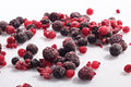 Frozen berries Royalty Free Stock Photo