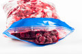 Frozen cherries Royalty Free Stock Photo