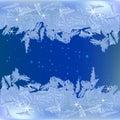 Frozen frost