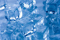 Frozen ice cubes Royalty Free Stock Photos
