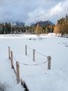 Frozen Nove Strbske Pleso, High Tatras