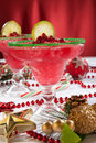 Frozen Pomegranate Margaritas Royalty Free Stock Photo