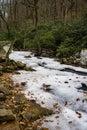 Frozen Stony Creek Royalty Free Stock Photo