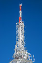 Frozen telecommunication tower