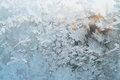 Frozen window pattern on christmas background Royalty Free Stock Photos