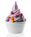 Frozen Yogurt Royalty Free Stock Photo
