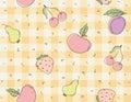 Fruit background Stock Images