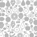 Fruit a background made of vector illustration Stock Photography