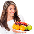 Fruit based diet Royalty Free Stock Photo