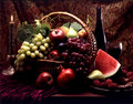 Fruit in basket Royalty Free Stock Photo