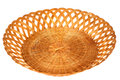 FRuit or bread basket Royalty Free Stock Photo