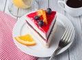 Fruit cakes Royalty Free Stock Photo