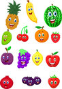 Fruit cartoon character Royalty Free Stock Photo
