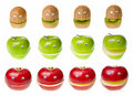 Fruit Characters Royalty Free Stock Photography