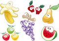 Fruit characters Stock Photo