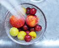 Fruit_cleaning_01 Stock Image